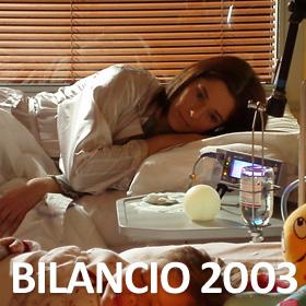 Bilancio Anno 2003