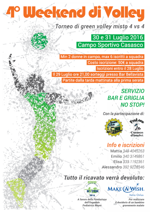 4° Week-end di Volley