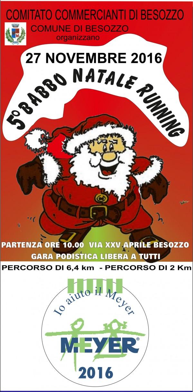 Babbo Natale Running 2016