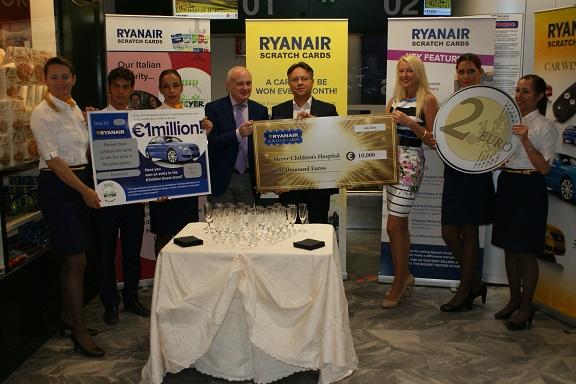 Grazie a Ryanair un sostegno alla Rianimazione