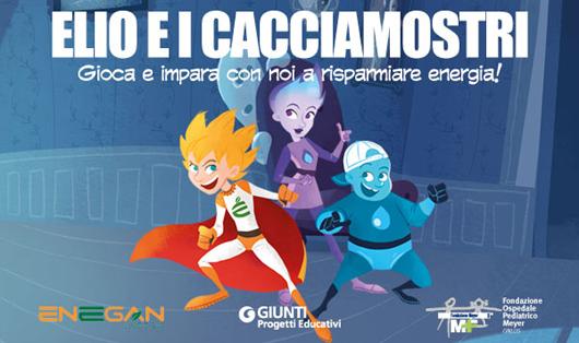 Risparmiare energia giocando: ecco la nuova campagna dell'Impresa Amica Enegan con Giunti