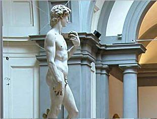 Visita al museo dell'Accademia di Firenze