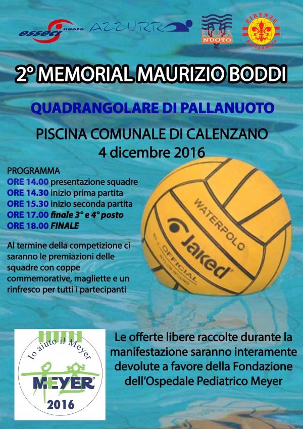 2° Memorial Maurizio Boddi
