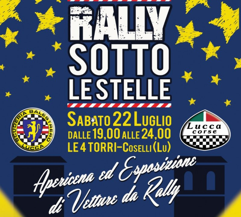 Rally sotto le stelle