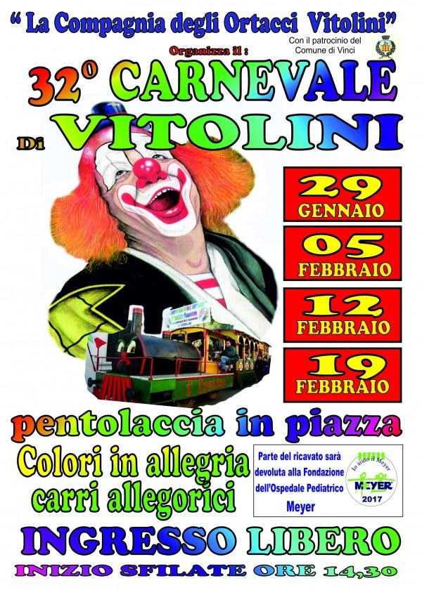 32° Carnevale di Vitolini