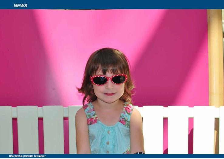 Dal Meyer il collirio speciale per i bimbi che non possono stare con gli occhi al sole