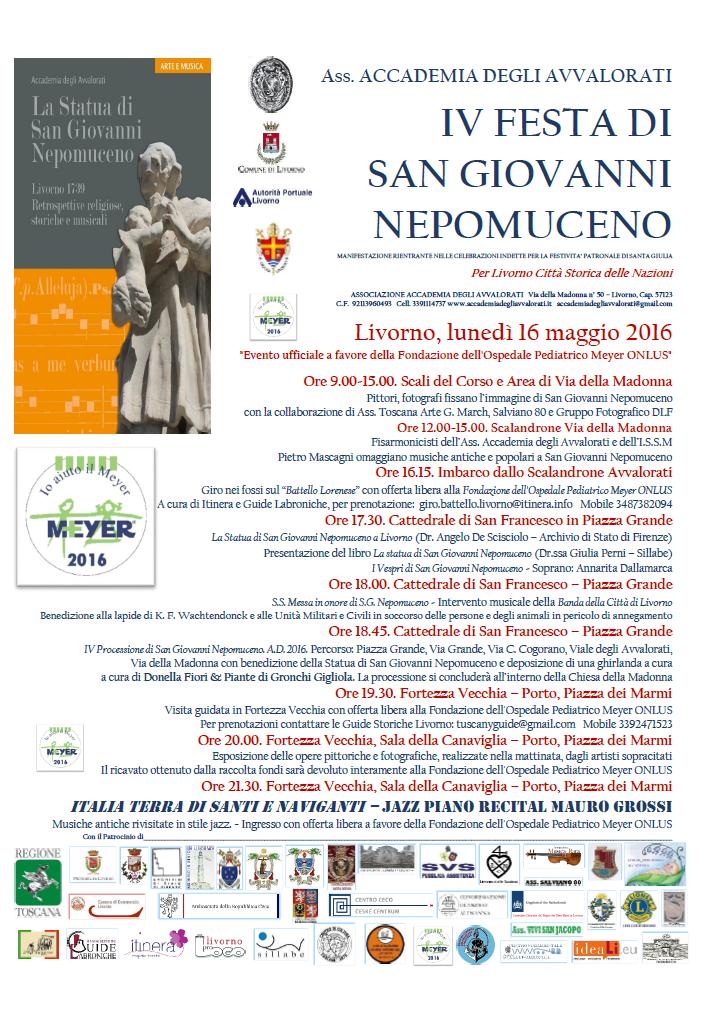 IV Festa di San Giovanni Nepomuceno
