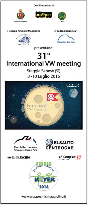 31° International VW Meeting