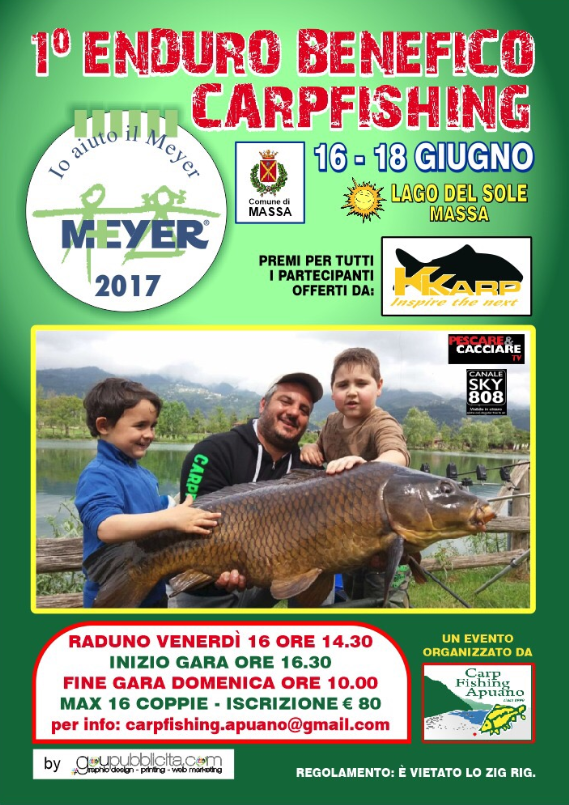 1° Enduro benefico carpfishing