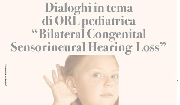 Dialoghi in tema di ORL pediatrica: