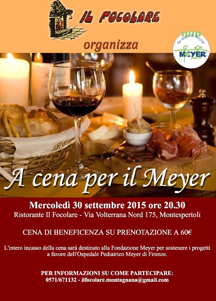 A cena per il Meyer