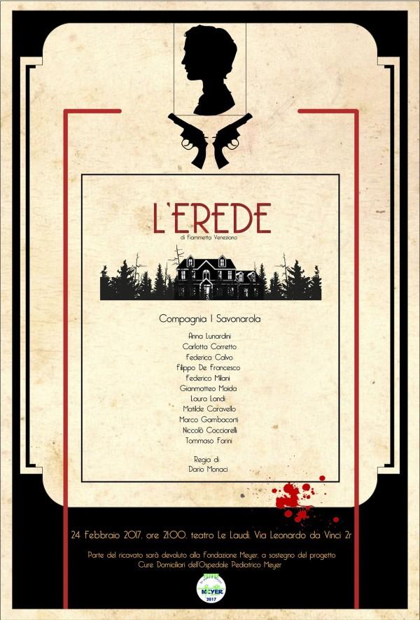 L'Erede, a teatro per il Meyer