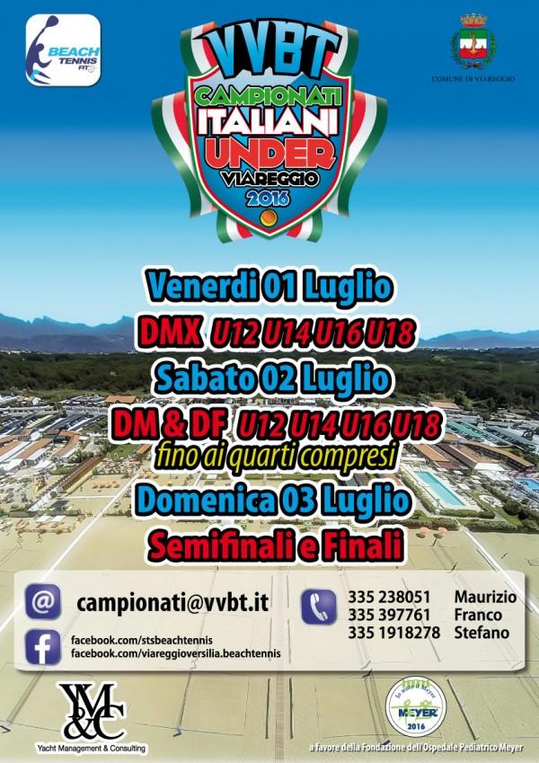 Campionati Italiani Under Beach Tennis