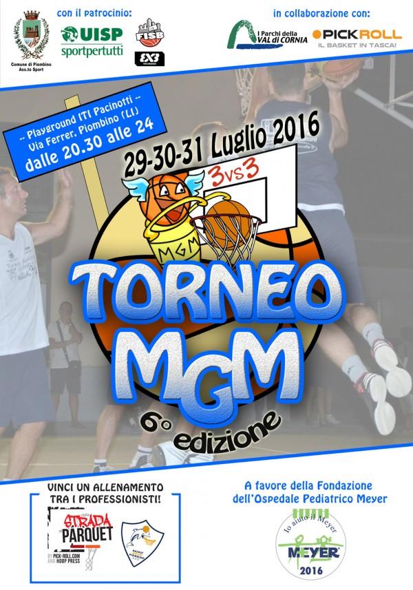 Torneo MGM: il Torneo Amatoriale di Basket 3vs3