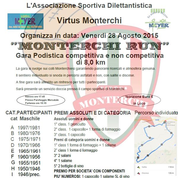 Monterchi Run 2015