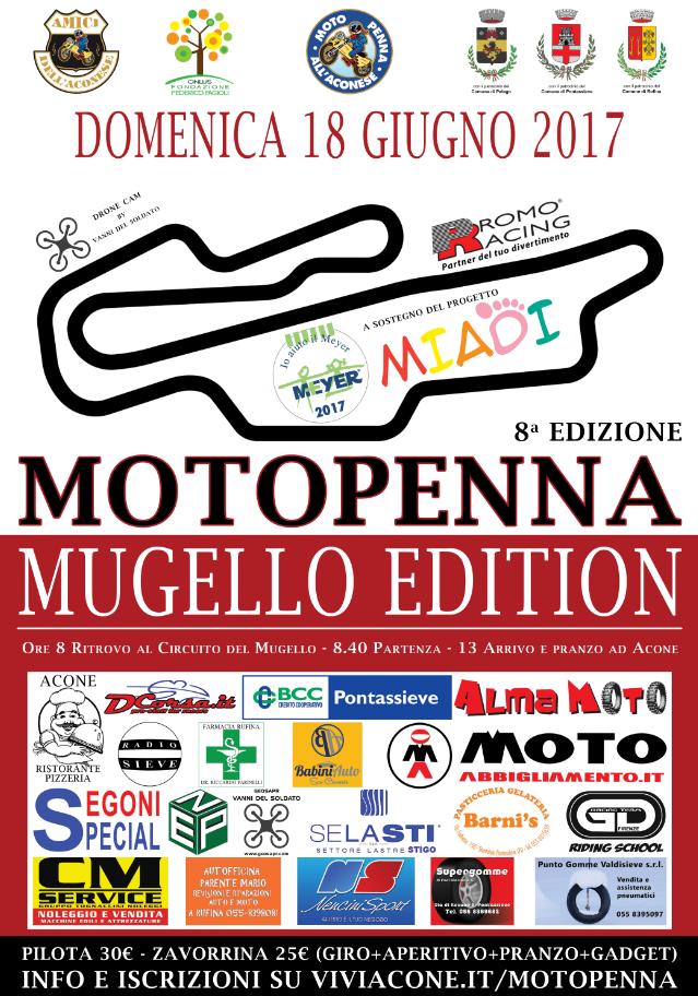 Motopenna Mugello Edition
