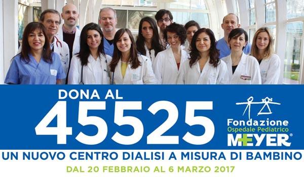 Dona al numero solidale 45525