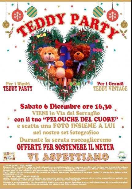 Teddy party per i bimbi