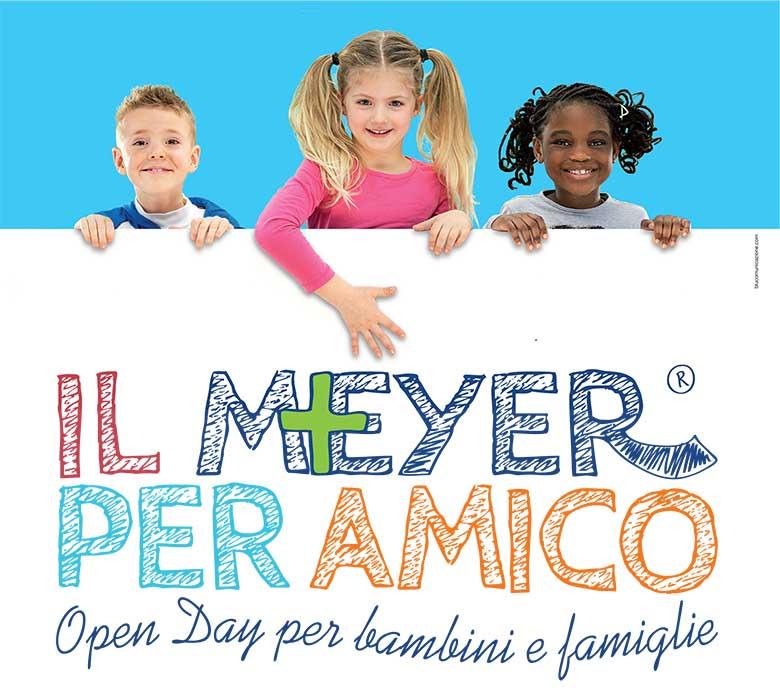 """Torna l'open day """"Il Meyer per amico"""" con giochi, spettacoli, laboratori"""