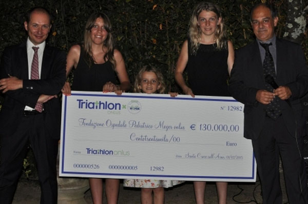 La Triathlon ONLUS per la Fondazione Meyer
