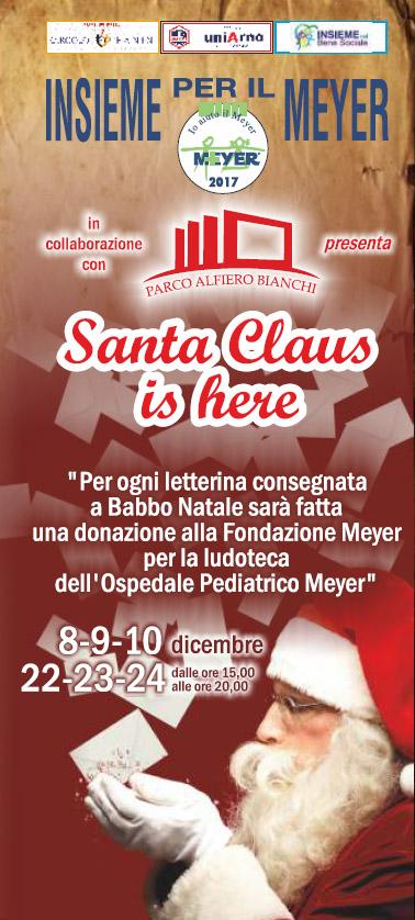 Insieme per il Meyer – Santa Claus is here