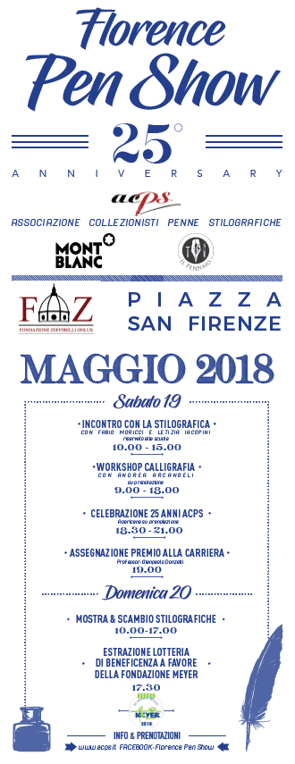 Florence Pen Show – 25° Aniversary