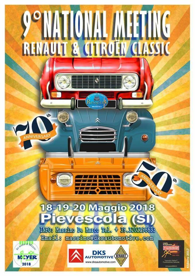 9° National Meeting Renault & Citroën Classic