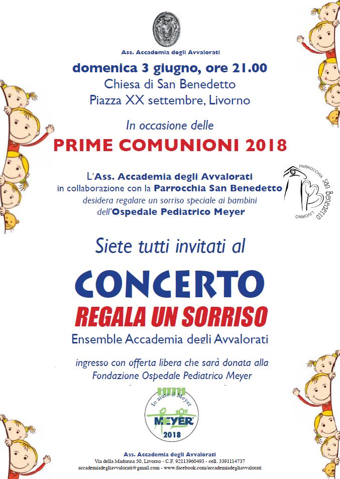 """Concerto """"Regala un sorriso"""""""