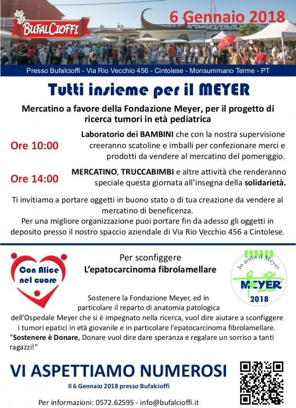 Mercatino Bufalcioffi – Tutti insieme per il Meyer
