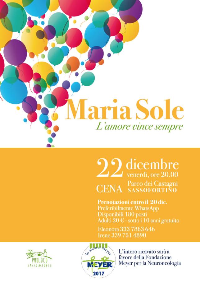Maria Sole, l'amore vince sempre