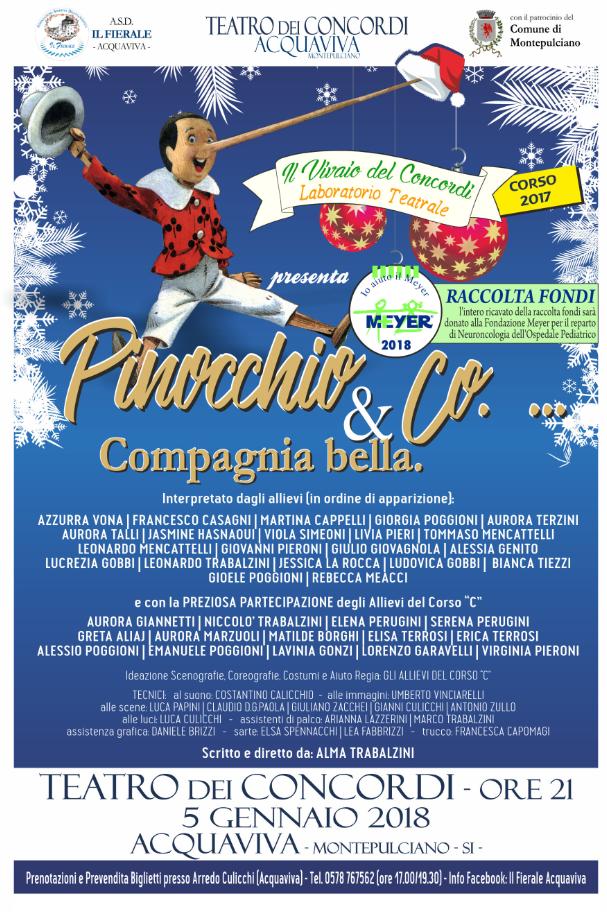 Pinocchio & Co… Compagnia bella
