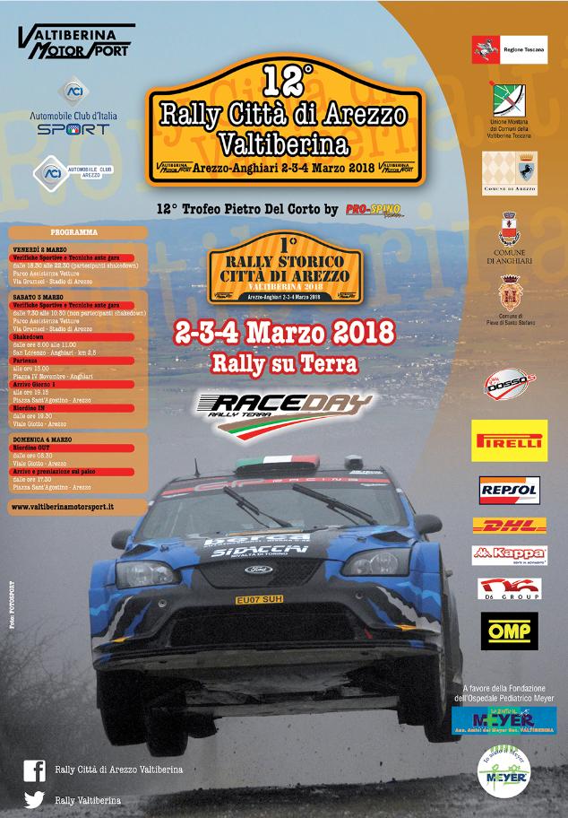 12° Rally Città di Arezzo Valtiberina