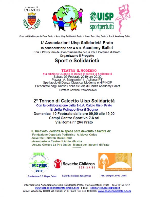 Sport e solidarietà