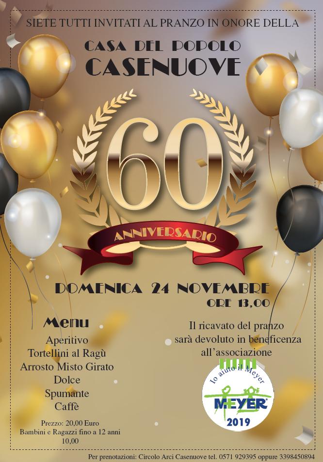 60° anniversario Casa del Popolo Casenuove