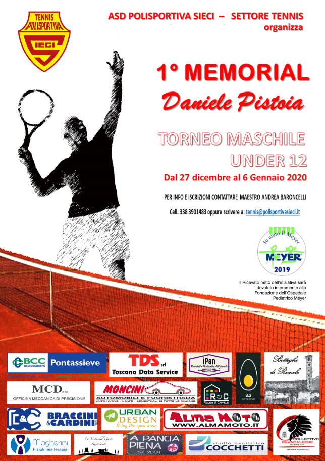 1° Memorial Daniele Pistoia