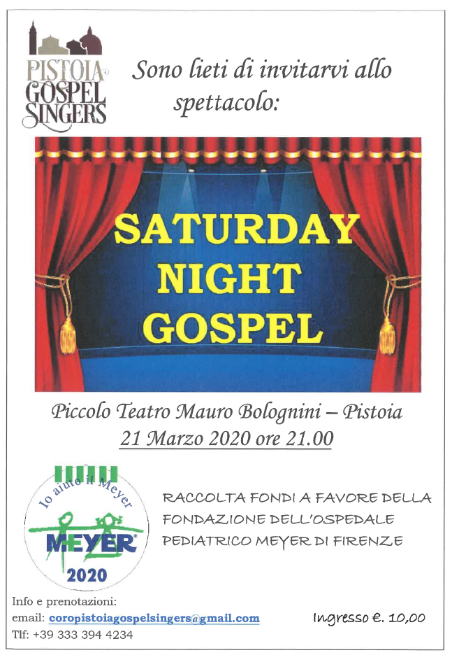 Saturday Night Gospel