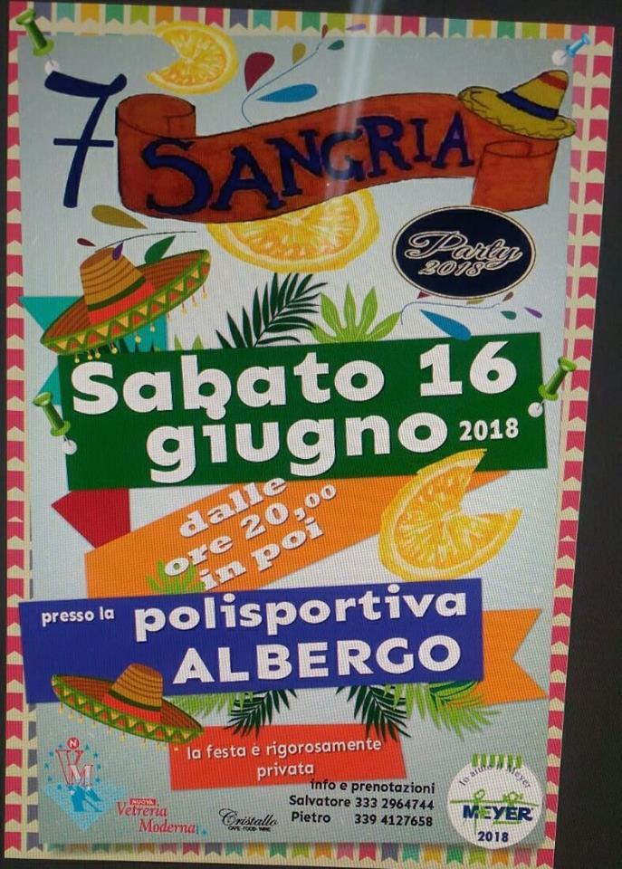 Sangria Party 2018