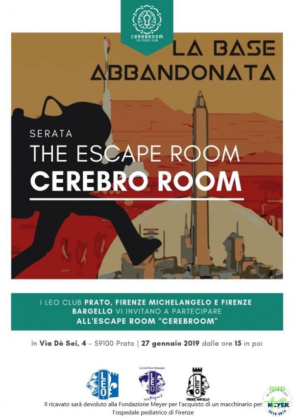 Escape Room – Cerebro Room
