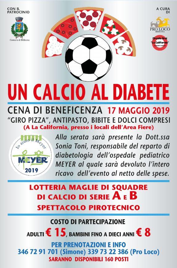 Un calcio al diabete