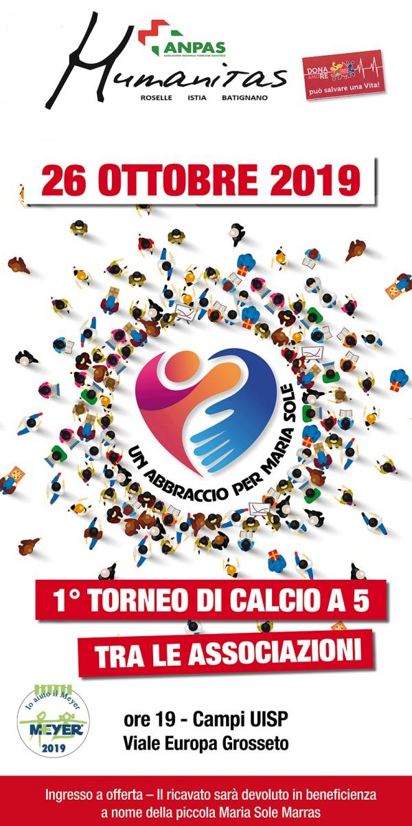 1° Torneo di Calcio A5 fra le associazioni
