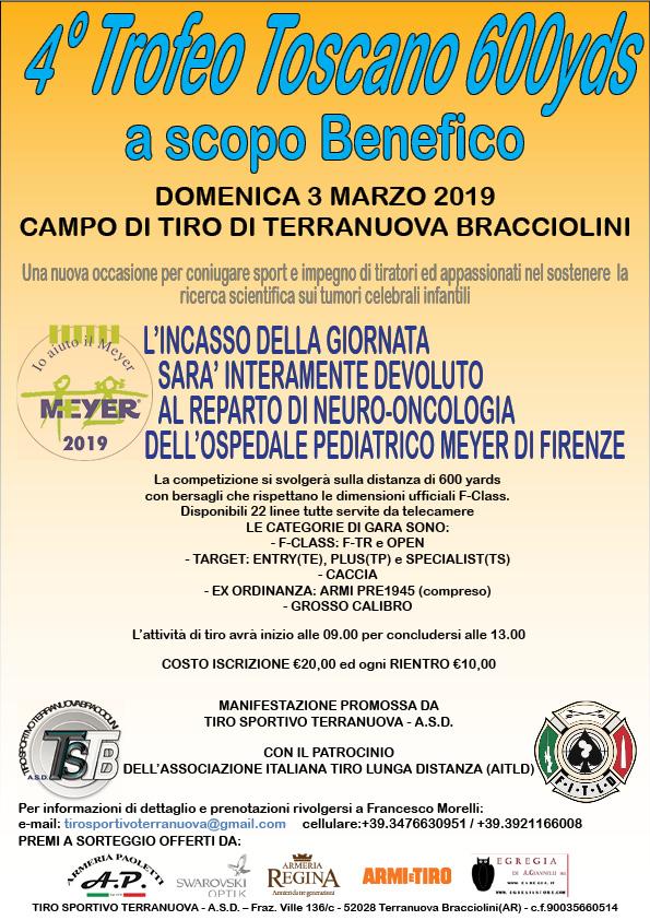 4° Trofeo Toscano 600 YD