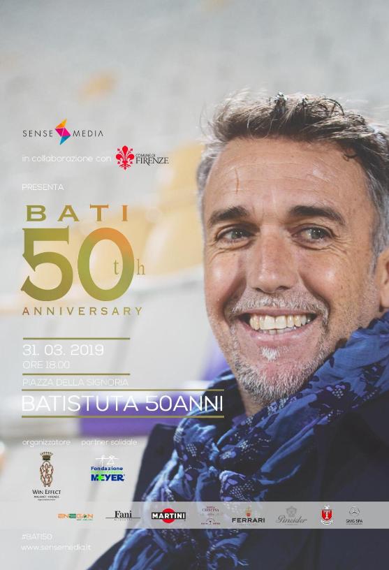 Batistuta 50 anni