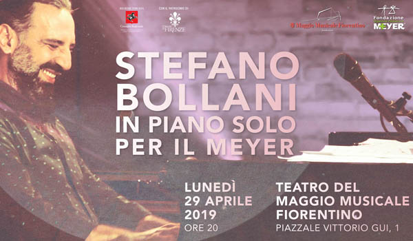STEFANO BOLLANI IN PIANO SOLO PER IL MEYER