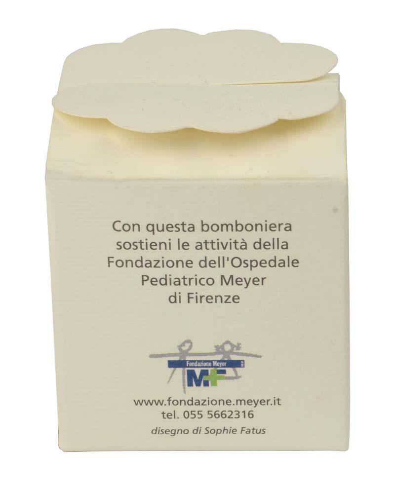 Bomboniera scatolina Cicogna (confezione da 10 pezzi)
