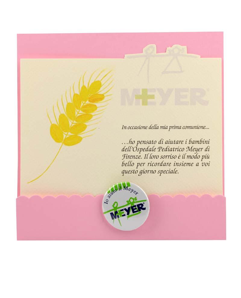 Bomboniera cartoncino Spiga di grano