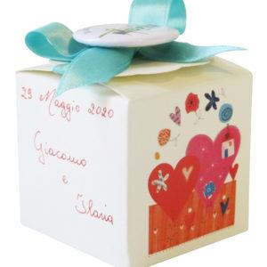 Bomboniera cartoncino coccinella-13