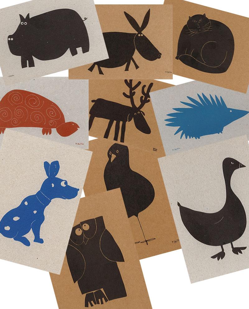 Cartoline di Felice Botta