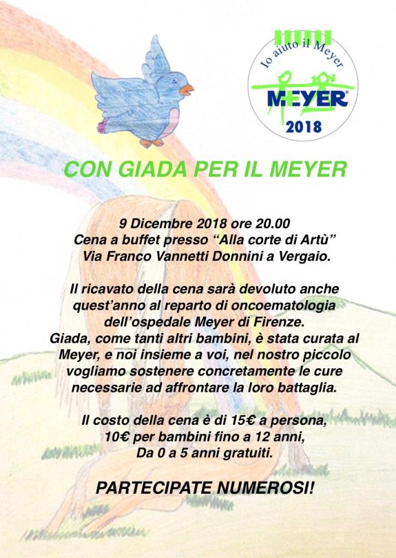Con Giada per il Meyer