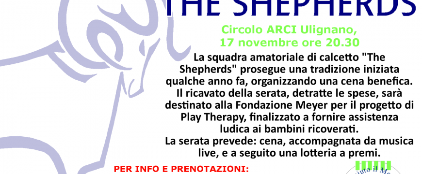 Cena Evento The Shepherds