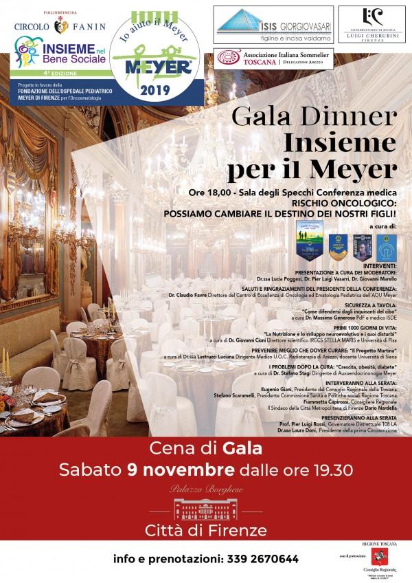 Gala Dinner insieme per il Meyer
